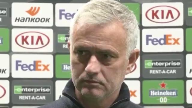 A análise de Mourinho à estreia de Carlos Vinícius pelo Tottenham