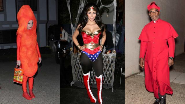 Os melhores (e piores) disfarces de Halloween de todos os tempos