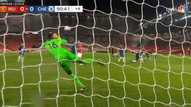A defesa de Mendy ao minuto 90 que roubou três pontos ao United