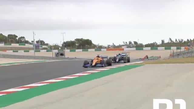 As primeiras voltas de Carlos Sainz que deixaram Portimão ao rubro