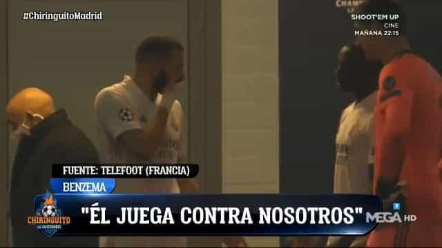 """Polémica no Real: """"Passa-me a bola, Vinícius está a jogar contra nós"""""""
