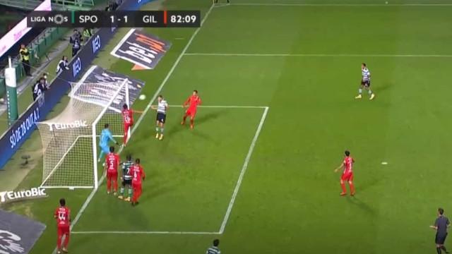 Sporar fez o empate frente ao Gil e devolveu a esperança ao Sporting