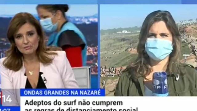 Hilariante! Lapso em jornal da RTP torna-se viral nas redes sociais