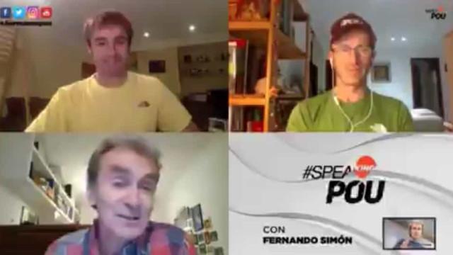 """Rosto da Covid-19 em Espanha ridiculariza Cristiano Ronaldo: """"Faz-me rir"""""""
