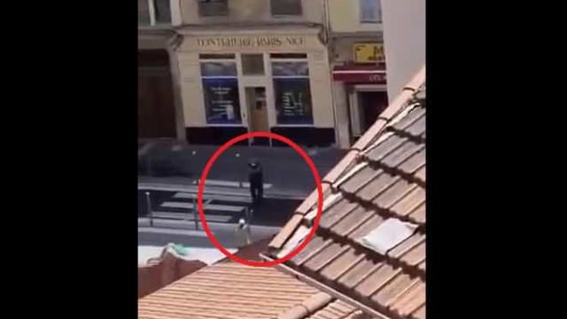 Filmado momento em que atacante de Nice foi neutralizado pela polícia