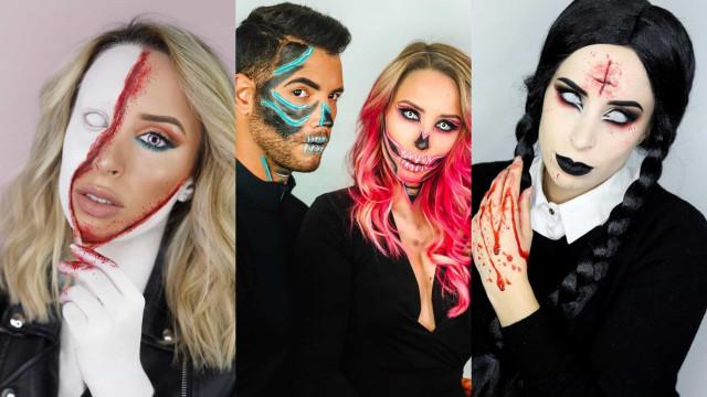 Helena Coelho recorda maquilhagens assombrosas que fez para o Halloween