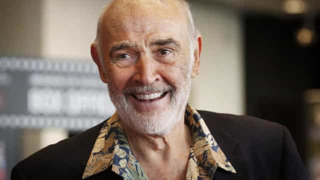 Autópsia revela a causa da morte do ator Sean Connery