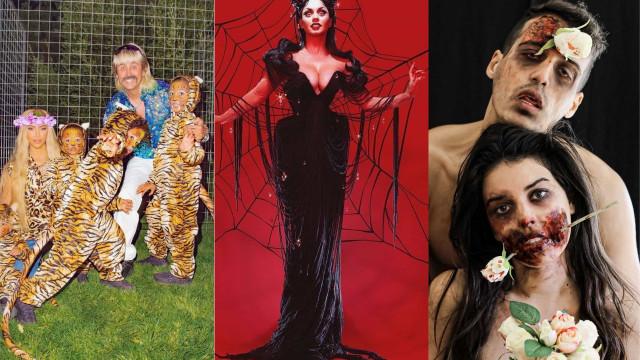 Famosos nacionais vs internacionais: O melhor do Halloween 2020
