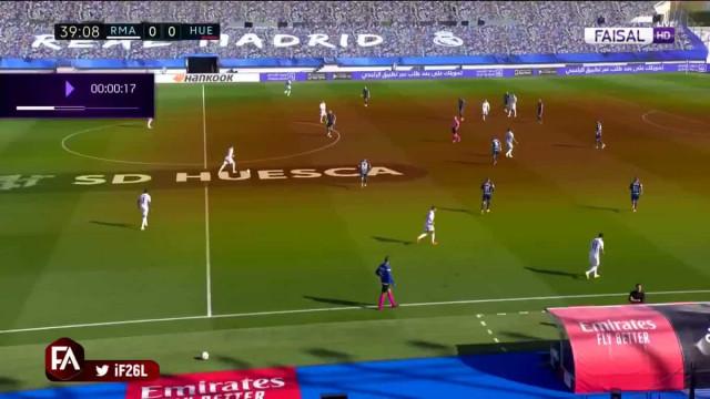 Hazard regressou em 'grande' e marcou um golaço ao Huesca