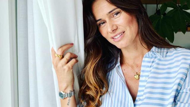 Cláudia Vieira homenageia a mãe de Pedro Teixeira