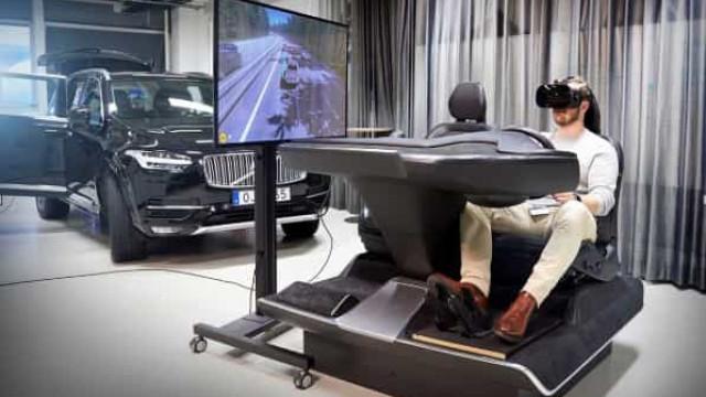 A Volvo tem um novo (e inovador) simulador que se inspirou nos videojogos