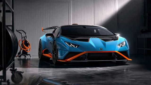 Da pista para as estradas: Eis o novo Lamborghini Huracán STO
