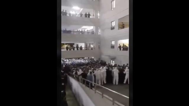 Caos no aeroporto de Xangai. Isolaram milhares para testar em massa