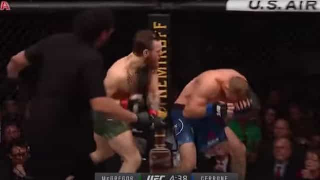 Ainda se lembra do último combate de McGregor? Durou 40 segundos