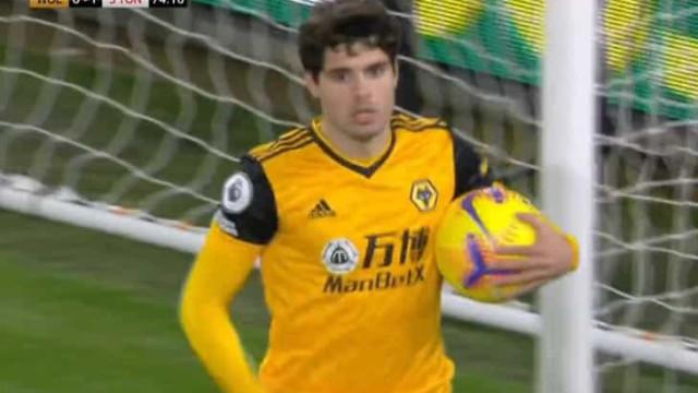 Pedro Neto de pé quente. Mais um golo ao serviço do Wolverhampton