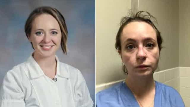 Enfermeira mostra o antes e depois após oito meses a combater a Covid-19