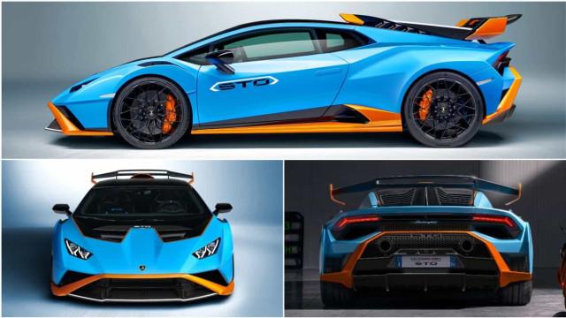 Lamborghini Huracán STO 2021: Eis as imagens que tem de ver