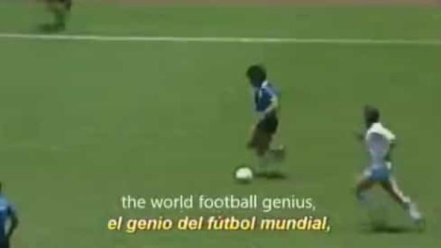Maradona morreu, mas deixou para trás um dos mais belos golos da história