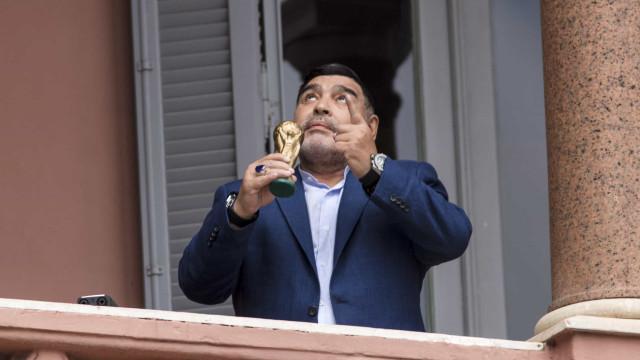 """""""De todos os supostos bens de Maradona, não há nada"""""""