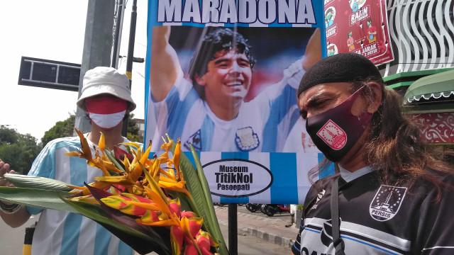 O relato do que se passou horas antes de Maradona morrer
