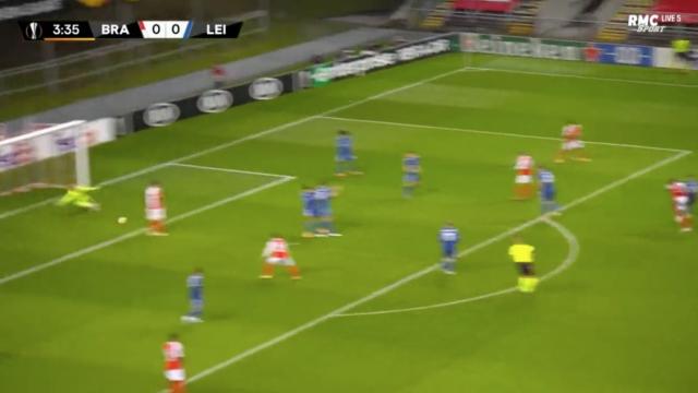Al Musrati inaugurou marcador do Braga-Leicester à lei da bomba