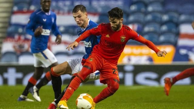 Benfica de duas caras arranca empate saboroso em Glasgow