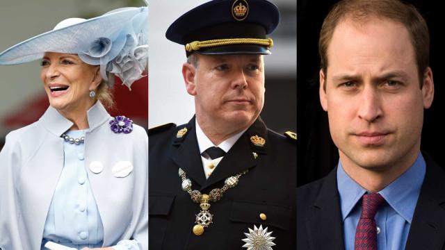Os membros da realeza que já estiveram infetados com Covid-19