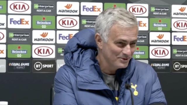 Winks marcou golaço, disse que foi sem querer e Mourinho reagiu assim