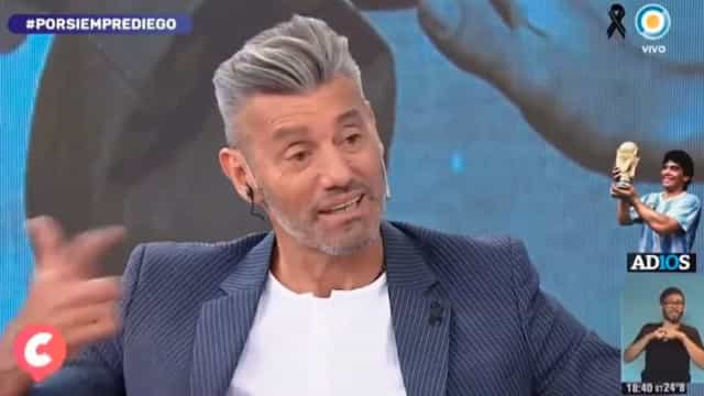 Ex-guardião da Argentina recorda El Pibe e acaba a chorar compulsivamente