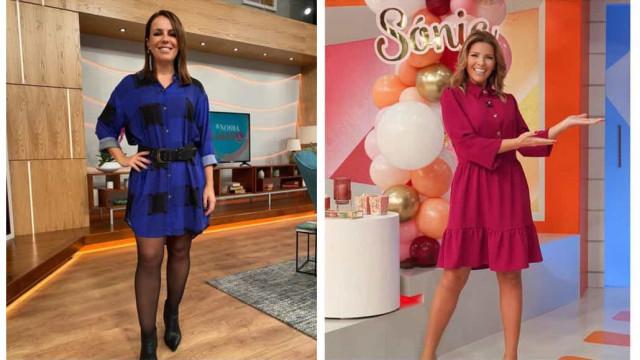 Sónia Araújo e Tânia Ribas de Oliveira: Looks da semana das musas da RTP
