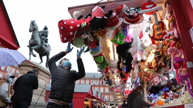 Pandemia (também) teve impacto nos mercados de Natal na Europa