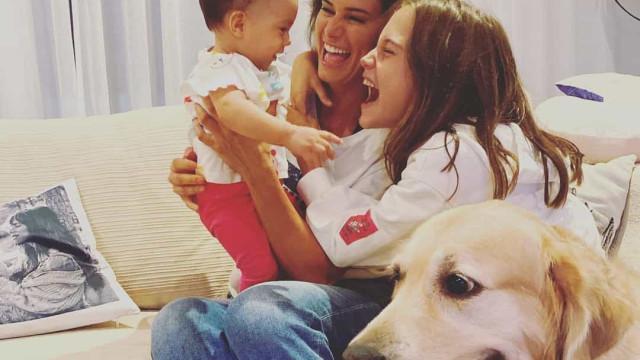 Cláudia Vieira batizou a filha mais nova