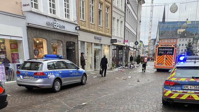 Suspeito de atropelamento mortal na Alemanha é habitante local