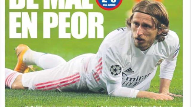 """Lá fora: Real Madrid vai de mal a pior e """"miúdo"""" salva Liverpool"""