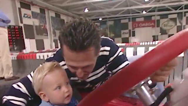 Haas partilha vídeo de Mick Schumacher com o pai Michael