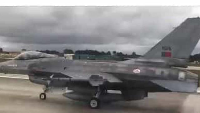 Dos 0 aos 280 Km/h em cerca de 20 segundos? Sim, num F-16 da Força Aérea