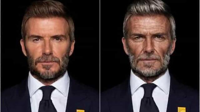 David Beckham aparece com 70 anos em vídeo. Eis o motivo