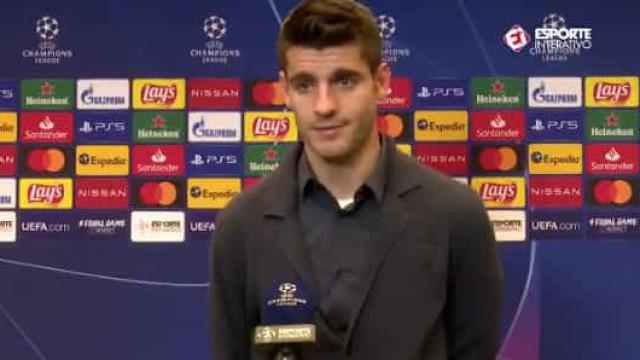 """Cristiano Ronaldo """"roubou"""" golo a Morata? O que o espanhol tem a dizer"""
