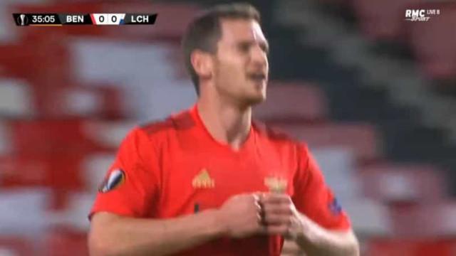 Vertonghen estreia-se a marcar na Luz e adianta o Benfica