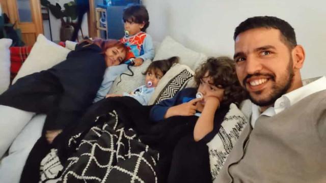 Carolina Deslandes em novo momento amoroso com o 'ex' e os filhos