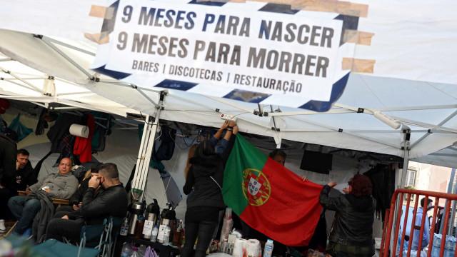 Empresários da restauração terminam greve de fome após reunião com Medina