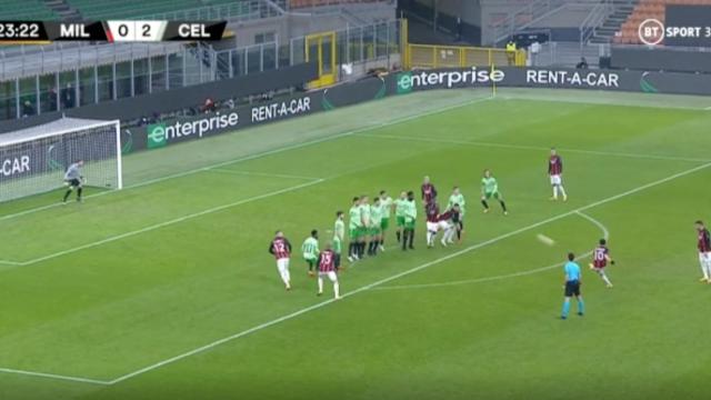 Çalhanoglu marcou um dos melhores golos desta noite de Liga Europa