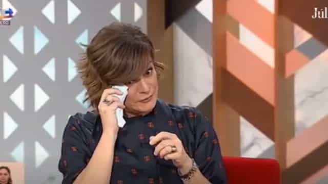"""Júlia Pinheiro emociona-se: """"Fui-me abaixo porque é comovedor"""""""