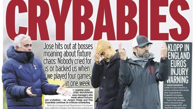 Lá fora: Bebés chorões na Premier e Messi à caça do recorde de Pelé