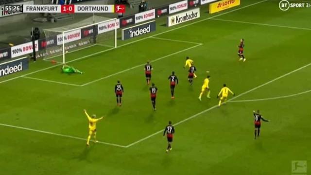 Reyna dispara míssil para empatar jogo frente ao Eintracht