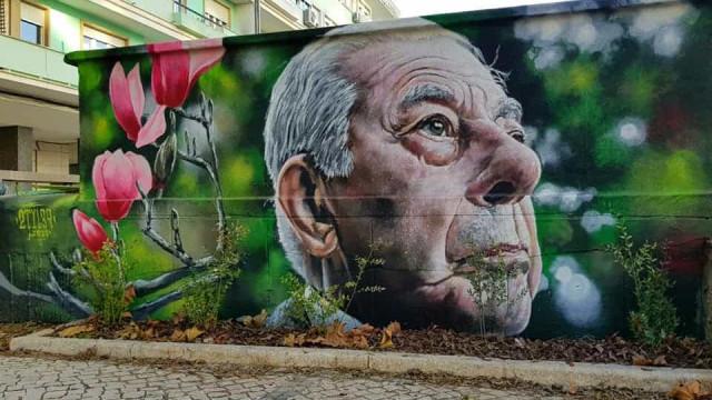 Lisboa faz homenagem a Ribeiro Telles através de mural em Alvalade