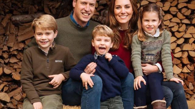 Filhos de Kate Middleton e William maravilhados com presente do tio