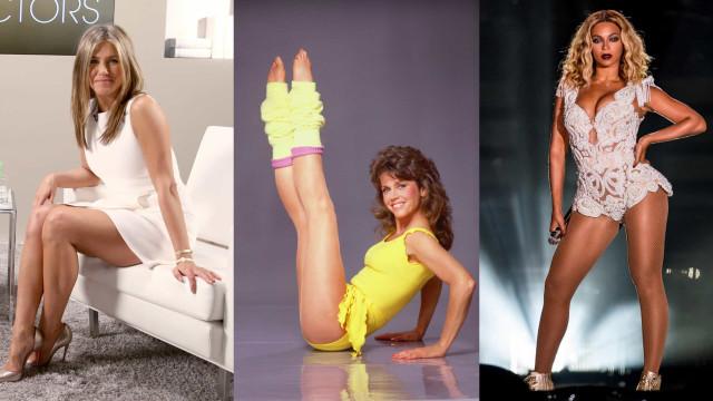 As melhores pernas de celebridades ao longo dos anos