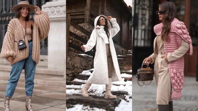 Moda. Inspire-se na influencer Joana Vaz para looks de inverno