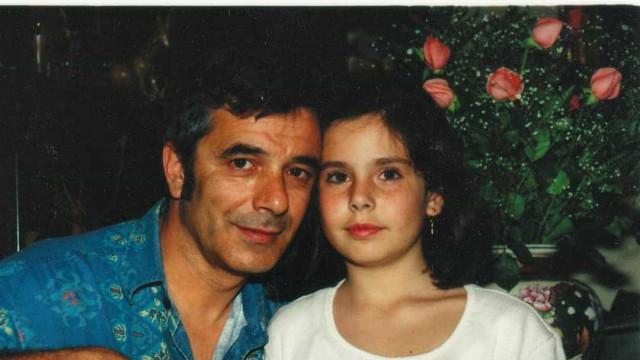 Sara Norte de coração apertado com saudades do pai